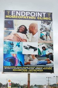 End Point Homeopathetic Clinic, Techiman