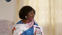 Nana Akosua Frimpomaa Sarpong-Kumankumah, Chairperson of the Conversation People's Party