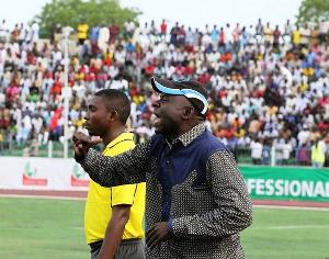 Head coach of Kano Pillars Ibrahim Musah