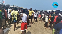 Ghana's beach remains closed to the public