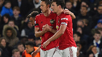 United scored a goal in each half to grab the full three points