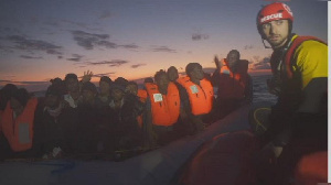 The migrants included 15 pregnant women, children and babies