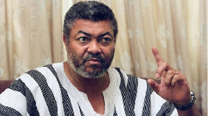 The late Former President Jerry John Rawlings