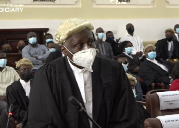 Tsatsu Tsikata unhappy with rushed trial by Supreme Court judges in election petition