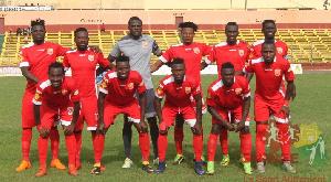 Players of AC Horoya
