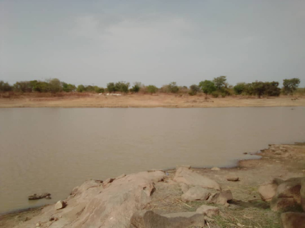 A photo of the dam the deceased got drowned