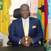 Director-General of National Lottery Authority, Mr. Kofi Osei-Ameyaw
