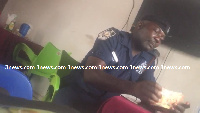 Sergeant Augustine Owusu Ansah has been detained for taking bribe