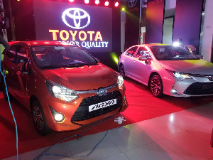 The new Toyota Corolla vehicle comes with two variants, 1.8 litre and 1.6 litre engine