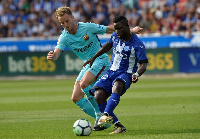 Mubarak Wakaso's side will face the La Liga Champions in the coming weeks