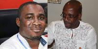 Akwasi Nsiah  and Rex Omar