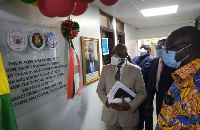 Lands minister inaugurates project office for artisanal miners