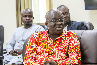 Outgoing Minister of Sanitation, Kofi Adda
