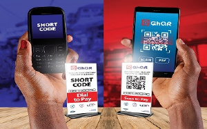 GHQR is Ghana's national Quick Response (QR) camera scan & pay service