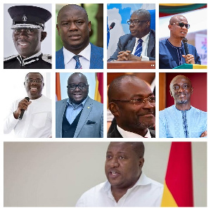Some of president Akufo-Addo's latest state appointees