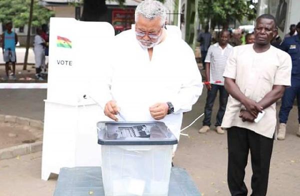 I voted for Nana Konadu in 2016 polls – Rawlings