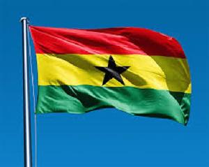 Ghana Flag Big