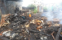 Some of the items that the fire destroyed