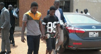 In the case of Bosso he allegedly conspired with Aseidu to embark on a robbery spree