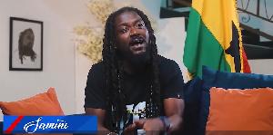 Dancehall musician Samini