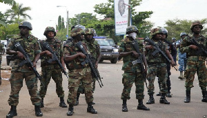 Ghana Army Soldiers 1