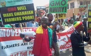Anti GMO protest