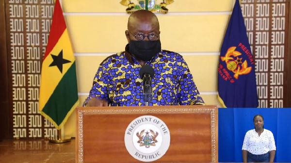 LIVESTREAMING: Akufo-Addo's 18th address to the nation on measures to fight coronavirus