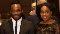 Micheal Essien and his wife, Akosua Puni