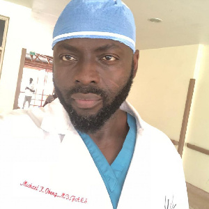Dr Michael K. Obeng is a US-trained Ghanaian qualified plastic surgeon