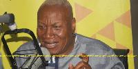 NDC flagbearer aspirant , Professor Joshua Alabi