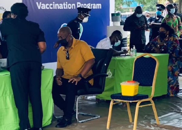 Avail yourselves for the vaccination exercise – Mahama urges Ghanaians