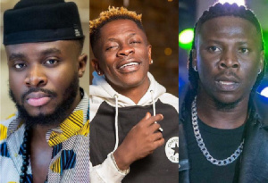 Fuse ODG, Shatta Wale and Stonebwoy have had great features that catapulted Ghana internationally