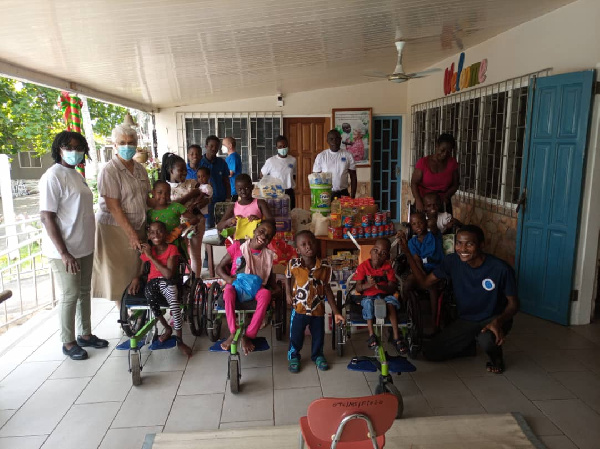 Fortitude Child Support Foundation donates to Orthopedic Training Centre