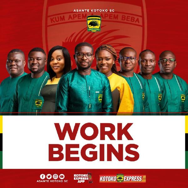 The work indeed begins now - Kofi Abban tells new Kotoko management
