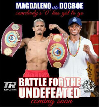 Jessie Magdaleno and Isaac Dogboe would have to wait for a while for their fight