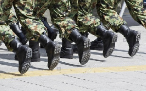 Some of the soldiers are, reportedly, informants for the coup plotters