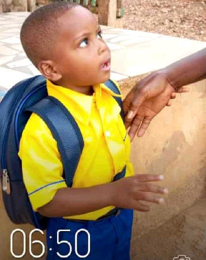 The 4-year-old KG 2 pupil who has been kidnapped