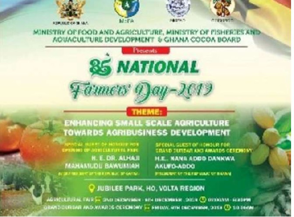 All is set for 35th National Farmers' Day in Ho