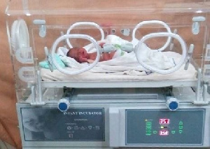 The incubators will go to support the care of pre-term babies across the country
