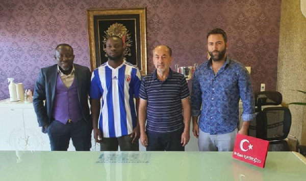 Ghanaian forward Abdul Rahman Basit completes loan switch to Ankaraspor Kulubu