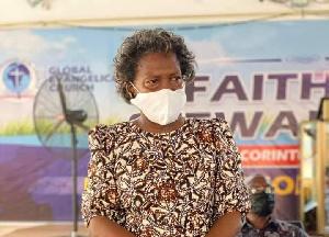 Reverend Dr Joseline Fugar, Acting Moderator Of GEC