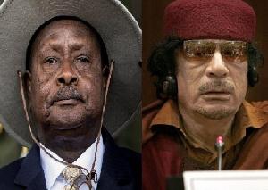 Africa 'betrayed' Gaddafi, but he also quit Tripoli too easily - Uganda president