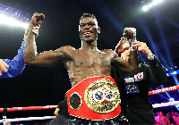 IBF Lightweight champion, Richard Commey