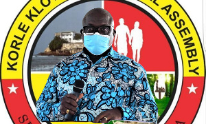 Chief Executive of Korle Klottey Municipal Assembly, Nii Adjei Tawiah