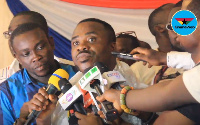 Newly elected NPP Greater Accra Chairman, Divine Otoo Agorhom