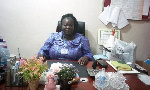 Esther Akua Konadu Prempeh, the District Director of Health Services