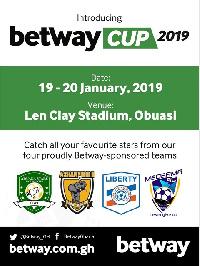 The tournament kicks off on Saturday, January 19