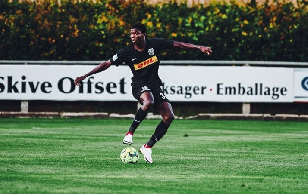 Ghana international Maxwell Woledzi