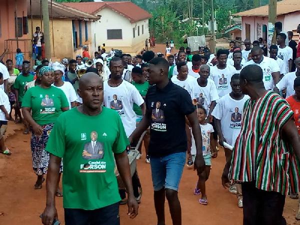 Six pastors join Ajumako Enyan Essiam constituency NDC campaign team