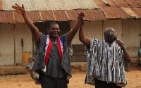 Vice President, Dr Mahamudu Bawumia with William Hor